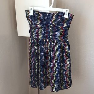 Parker strapless dress size Small